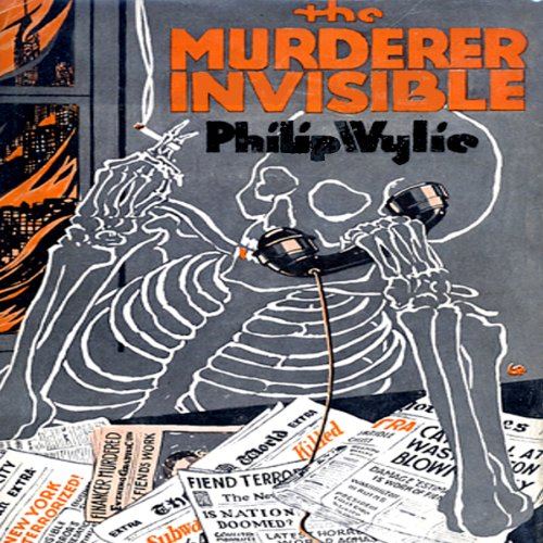 The Murderer Invisible audiobook cover art