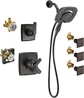 Delta KS17264I-DRB00-RB Ashlyn Monitor Shower Kit with In2ition, 3-Setting 2-Port Diverter, and 3 Touch-Clean Body Sprays, Venetian Bronze