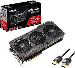 ASUS TUF Radeon RX 6800 XT OC Graphics Card DirectX 12 Ultimate 16GB 256-Bit GDDR6 PCIe 4.0 Axial-tech Fan Design 1x HDMI ...