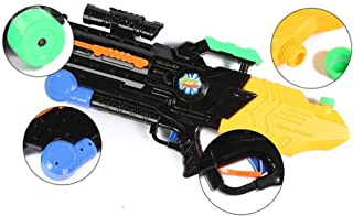 LGXJP Children, water gun, toy, summer, outdoor, beach game, high pressure jet, 60 cm, oversized, pull-out, water gun, B2011 white/black Baby toys ( Color : White )