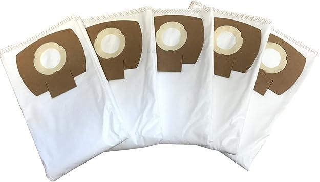 P Premium WD 5 P Premium Renovation Kit 5 sacchetto filtro in vello per Karcher WD5 alternativa al 2.863-006.0 sacchetti per aspirapolvere di Microsafe Premium