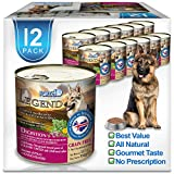 Forza10 Legend Digestion Wet Dog Food, Icelandic Chicken and Lamb Meat Cubes, Canned Grain Free Dog Food, Sensitive Stomach Dog Food, 12 Pack Case (13 Ounce)