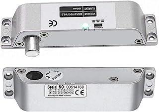 Electric Drop Bolt Lock DC 12V Fail Safe NC Mode Electronic Door Lock for Access Control Security Lock Door (X Bolt Lock) ...