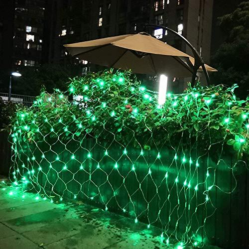 YUNDING Malla De Luces Luces De Hadas Decoración Luz De Red LED para Exteriores Jardín Decorativo Impermeable 220 V 110 V Boda Fiesta(Color:10mX8m)