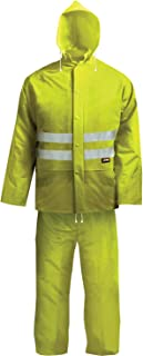 Scan WWHVRSYXX High Visibility Rain Suit - Yellow