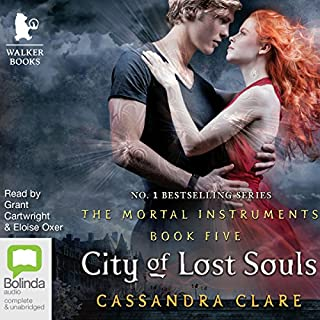 City of Lost Souls: Mortal Instruments, Book 5 cover art