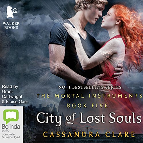City of Lost Souls: Mortal Instruments, Book 5     Mortal Instruments, Book 5              By:                                                                                                                                 Cassandra Clare                               Narrated by:                                                                                                                                 Grant Cartwright,                                                                                        Eloise Oxer                      Length: 17 hrs and 39 mins     89 ratings     Overall 4.4