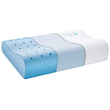 inight Contour Memory Foam Pillow For Firm Pillow Lovers - Cervical Support Firm Pillow, Back & Side Sleepers, 21.65 * 13.78 * 4.72 Inch, Ergonomic Deep Sleep Contour Bed Pillow