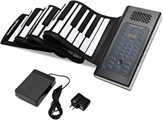 EOSAGA 88 Keys Roll Up Piano Keyboard Portable Electric Hand