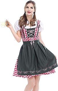 NUWIND Kostüm Bayerisches Damen-Trachtenkleid / Oktoberfest-Dirndl
