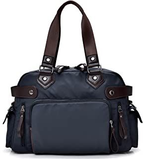 Forestfish Tote Bag Shoulder Bag Handbag Tablet Laptop Bags Briefcase Work Business Travel Bag for Women Men
