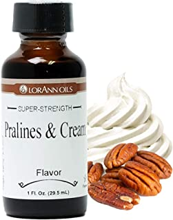 LorAnn Pralines and Cream Super Strength Flavor Flavor, 1 ounce bottle