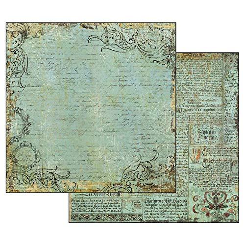 Stamperia Handgeschöpftes Papier, mehrfarbig, Einheitsgröße