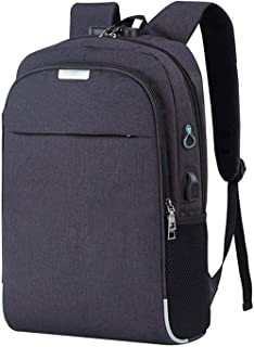 Backpack Laptop Backpack USB Charging Backbag Travel Daypacks Male School Leisure Backpack Anti Theft Mochila Bookbag