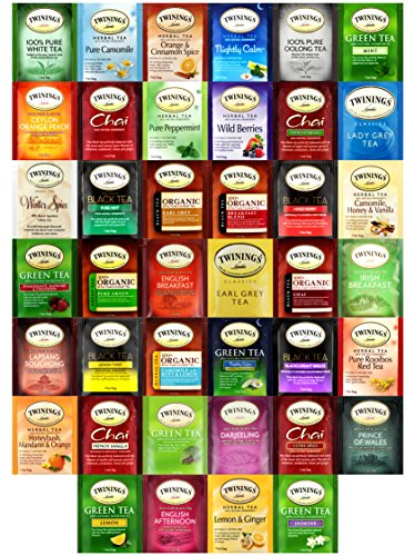 Twinings Tea Bags Sampler Assortment