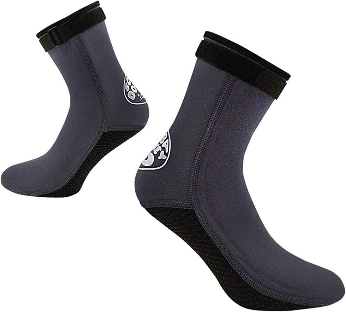 IPENNY Thermal Non-Slip Wetsuit Socks Quality inspection Diving 3mm Scuba Neoprene Financial sales sale