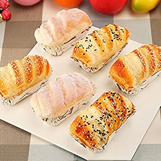 Nice purchase Artificial Cake Fake Simulation Realistic Food Imitation Faux Replica Cake Bread Dessert for Home Kitchen Party Decoration Display Toy Props Real Model 6 PCS