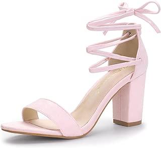 Best light pink lace up heels Reviews