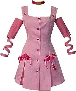 JoJo's Bizarre Adventure Cosplay Sugimoto Reimi Cosplay Costume Pink Dress Skirt Halloween Costume Full Set