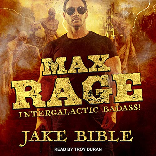 Max Rage audiobook cover art
