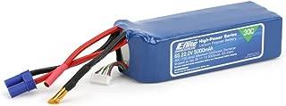 E-flite 5000mAh 6S 22.2V 30C LiPo, 10AWG: EC5, EFLB50006S30