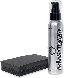 AdlaS アドラス 水性タイヤワックスType1 新開発新配合 タイヤの黒・ツヤ・撥水超持続タイプ タイヤに優しい水性タイヤコーティング剤