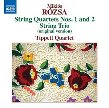 Rózsa: String Quartets 1 & 2 - String Trio