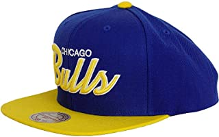 Chicago Bulls NBA Mitchell & Ness Two Tone Special Script Snapback