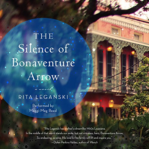 The Silence of Bonaventure Arrow audiobook cover art