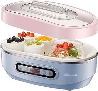 SJYDQ Mini ménages yogourt Machine, Automatique Multifonction natto Machine en céramique Liner vin de Riz Fermentation Mac...