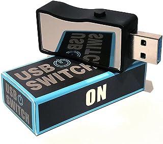Interruptor USB Encendido/Apagado USB 3.0 y 2.0 - HmbG 1401 - USB On/Off Switch