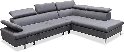 Amazon.es: sofas chaise longue 4 plazas