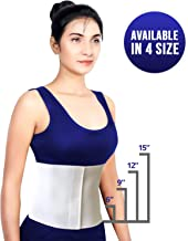 Most Comfortable Abdominal Binder, Additional Plush Foam Panel Added for Pleasant Wear, Post Pregnancy, Post-Operative and Abdominal Injuries Support, Small (30