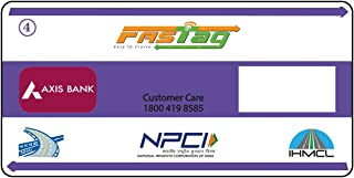 Axis Bank Powered FASTag for Car/Jeep/Van | Not Mandatory to Have a Axis Bank Account