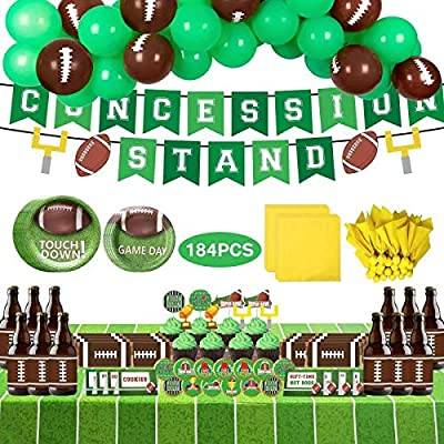 Football Party DecorationsSuper Bowl Party Supplies Set for