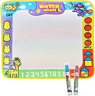TOYANDONA Water Drawing Mat Kids Drawing Mat Drawing Mat Toy Set Doodle Drawing Mat Educational Painting Toy for Toddlers ...