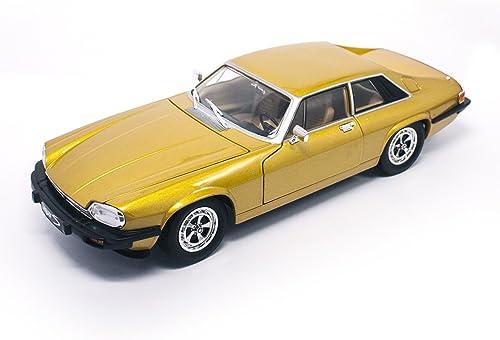 caliente LUCKY Die-Cast Die-Cast Die-Cast 1 18 1975 Jaguar XJS Modelo vehículo,  el estilo clásico