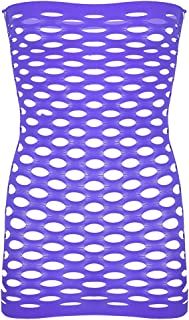 inlzdz Mens Sexy Hollow Out Bodycon Mini Dress Lingerie Sissy Underwear Sleepwear Nightwear