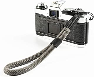 LXH bawełniany pasek na rękę, pasek na rękę kompatybilny z Fujifilm X-T30 X-T4 X-T3 X-T20 X-T2 X70 X-Pro2 X-E3 X30 XQ2 X10...
