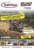 TrakMaps ATV Quebec Map for Garmin including routable official FQCQ trails of Quebec