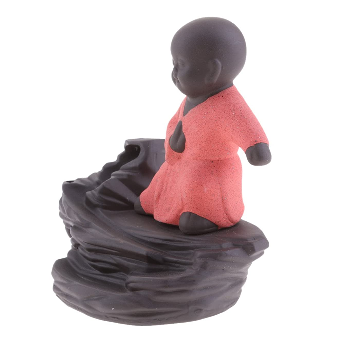 ライセンス参照するアクロバットJiliオンラインクリエイティブホームDecor The Little Monk / Tathagata / Buddha Statue逆流香炉香炉 96b804dd59b6789b9ce09875d285d232