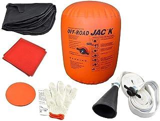 Coche Hinchable Jack Inflable 4 toneladas Emisión y Bomba de Doble Uso