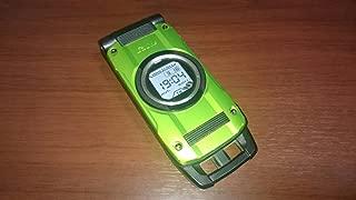 G'zOne TYPE-X グリーン 携帯電話 白ロム au