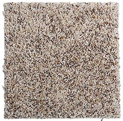 """Smart Squares Piece of Cake 9"""" x 9"""" Ultra Premium Residential Soft Carpet Tiles, Peel and Stick, Easy DIY Installation, Seamless Appearance, Made in USA (Sample, 724 Sandpoint)"""