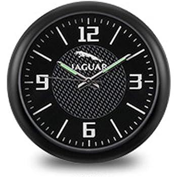 idain Car Dashboard Clock Mini Vehicle Clock Decoration Air Vent Cilp Blue