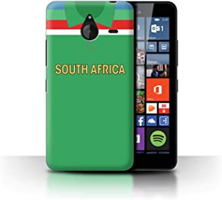 eSwish Phone Case/Cover for Microsoft Lumia 640 XL/South Africa/African Design/Retro Cricket Kit World Cup 1992 Collection