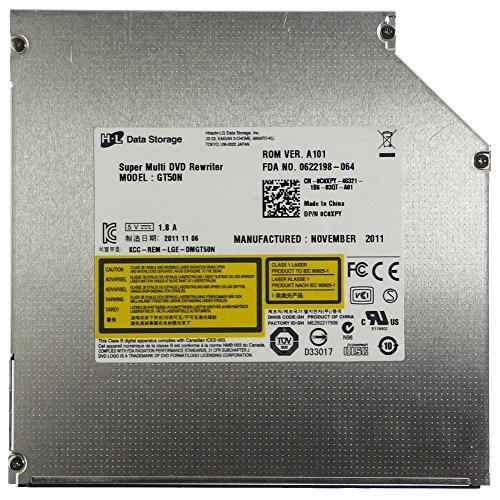 HL Data Storage slimline Notebook 8x SATA P/N C0XPY GT50N Lightscribe ID12425