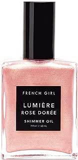 French Girl - Organic Lumiere Rose Doree Shimmer Oil (2 oz | 60 ml)