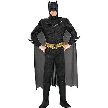Rubies 880671, Disfraz de Batman para hombre, Negro, L: Amazon.es ...