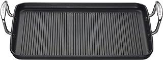 LE CREUSET Härdad non-stick ribbad rektangulär grill, 35 cm